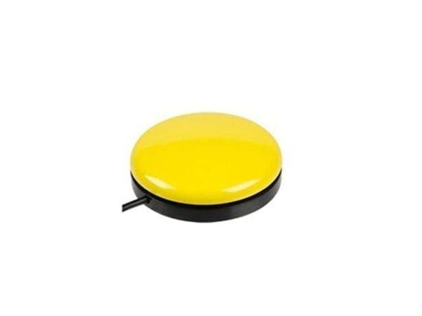 yellow buddy button large